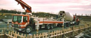 Concrete Ready Mix Truck