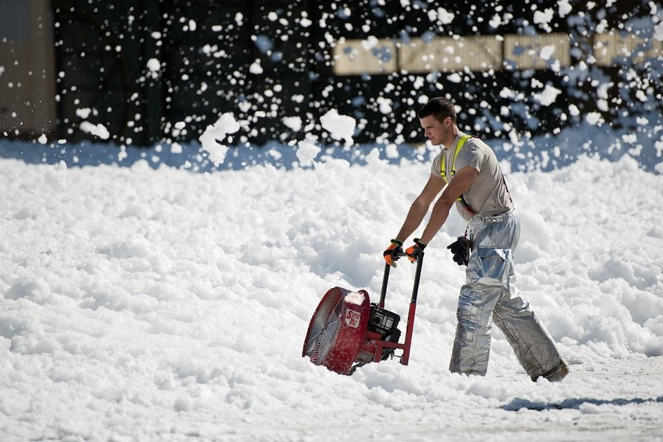Concrete products like heated driveways make winter easy!