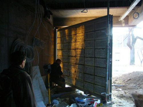 light transmitting concrete products
