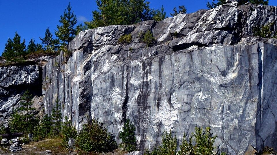 Once they're used up, stone quarries are often rehabilitated so they can be reclaimed by nature.