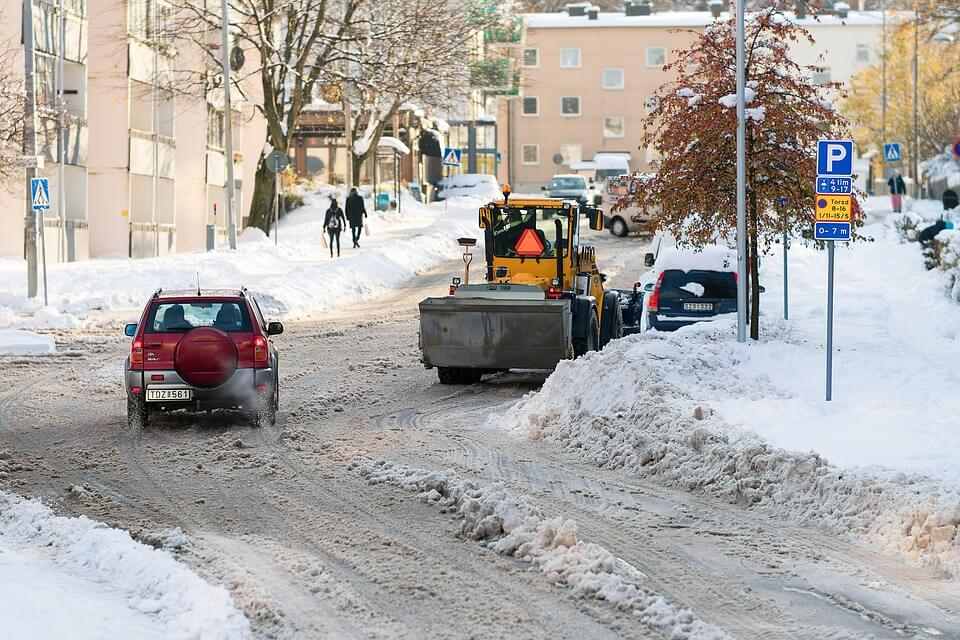 Concrete products may soon have snow-melting properties, making life easier during winter weather.